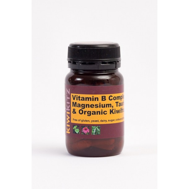 VITAMIN B COMPLEX Plus Magnesium & Taurine - Energy & Nerves