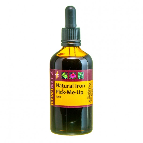 NATURAL IRON PICK-ME-UP Mineral Tonic Safe in Pregnancy 100ml