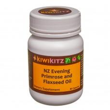Evening Primrose /NZ Flaxseed Oil Heart/Brain/Skin-90 caps