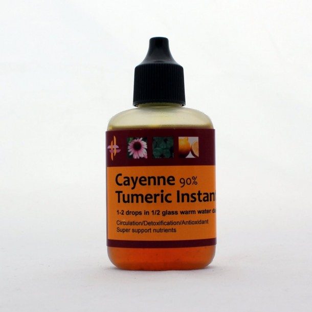 Cayenne Turmeric Instant use drops
