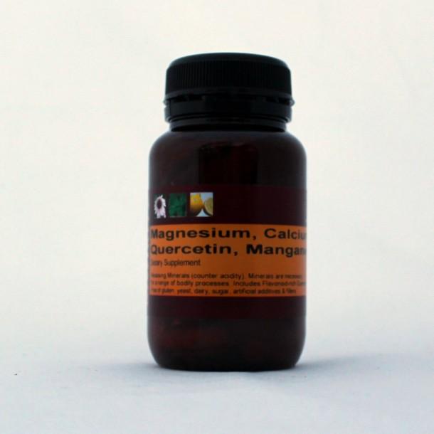 Magnesium Calcium Manganese + Quercetin for lymph